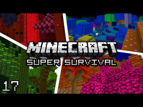 Minecraft: Super Modded Survival Ep. 17 - CONFETTI CANNON