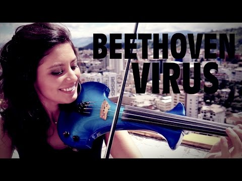 BEETHOVEN ROCK! ? en VIOLIN ELECTRICO!! (Beethoven Virus)