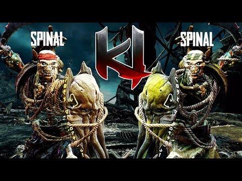 Killer Instinct Spinal Gameplay - Online Match 10