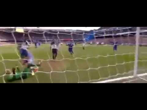 Chelsea 1-0 Everton 2/22/2014 John Terry Goal!