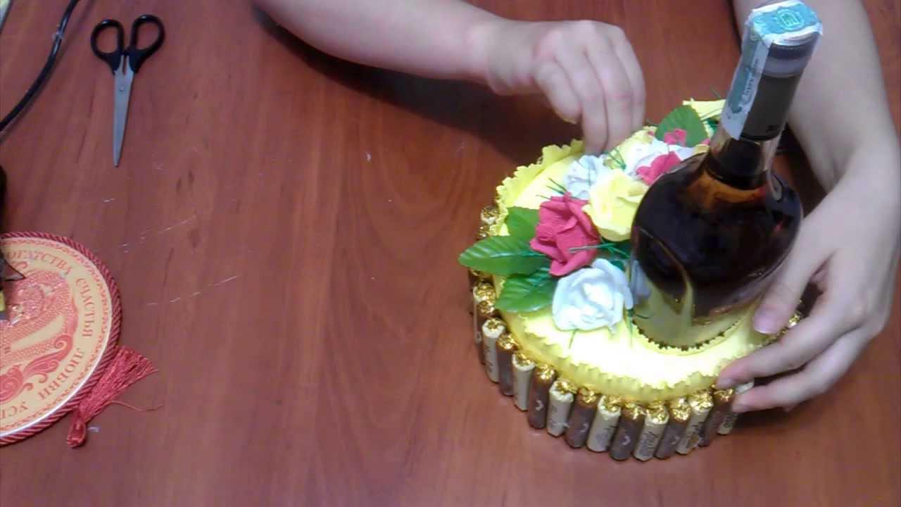 Букет из конфет москва цены