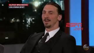 Zlatan Ibrahimovic confirmó que irá a Rusia 2018 con esta arrogante frase
