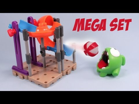 Cut the Rope Om Nom's Playground Mega Set Toy Review