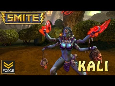 SMITE: KALI (Gameplay)