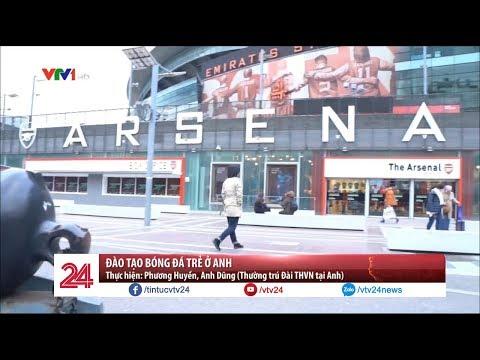Đào tạo bóng đá trẻ ở Anh | VTV24