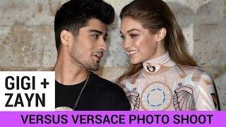 download lagu Gigi Hadid Photographs Boyfriend Zayn Malik For Versus Versace gratis