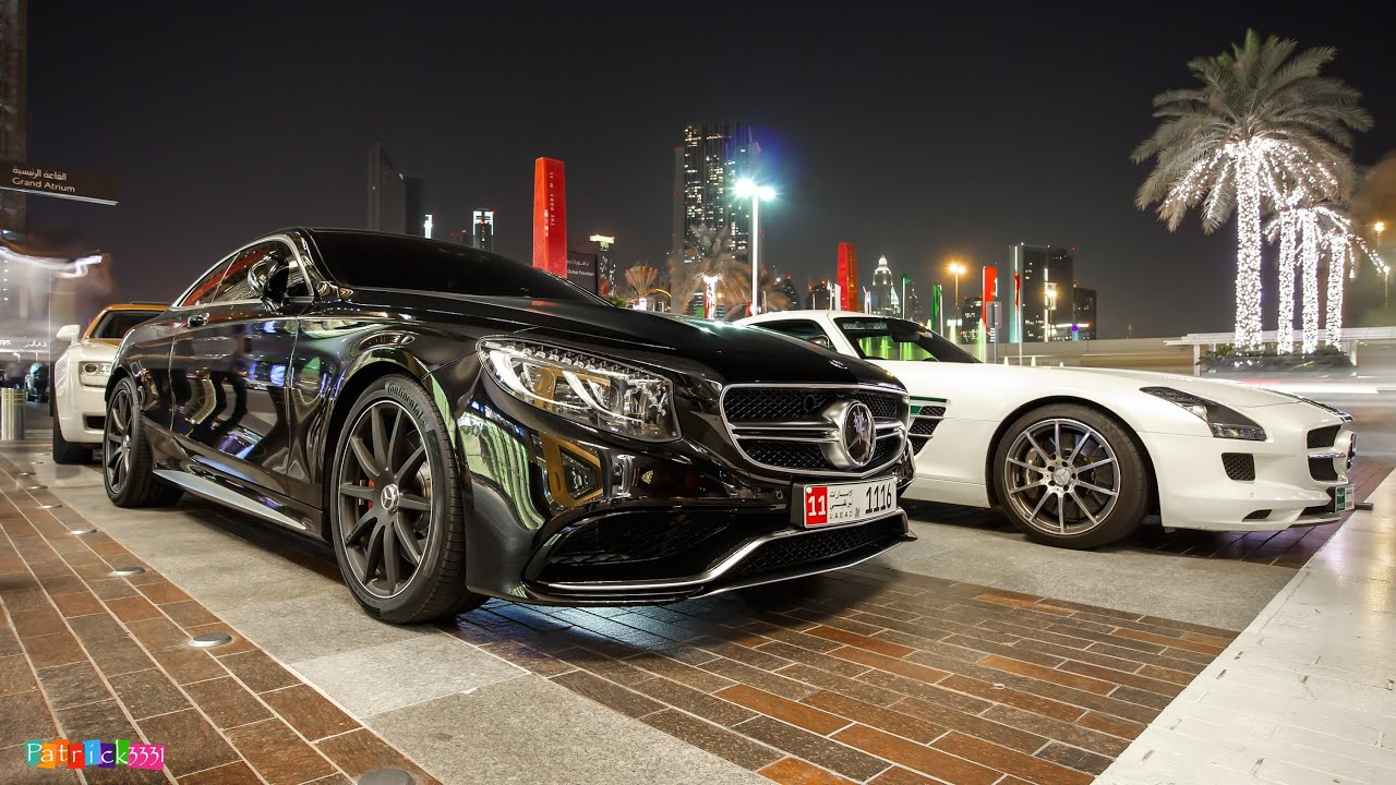 Mercedes Benz S63 AMG 4matic Coupe In Black YouTube