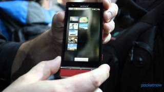 MWC: Sony Xperia P Hands On