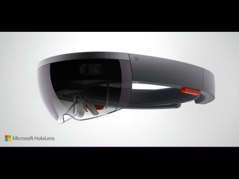 Microsoft's HoloLens Live Demonstration