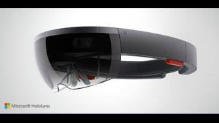 Microsoft's HoloLens Live Demonstration