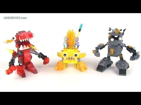 LEGO Mixels series 1 MAX combinations! Infernites, Electroids, and Cragsters