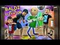 🎵 BALDI PARTY IN THE ELEVATOR🎵 + BALDI goes CAMPING w/ FGTEEV In Real Life & FNAF Ruins It!
