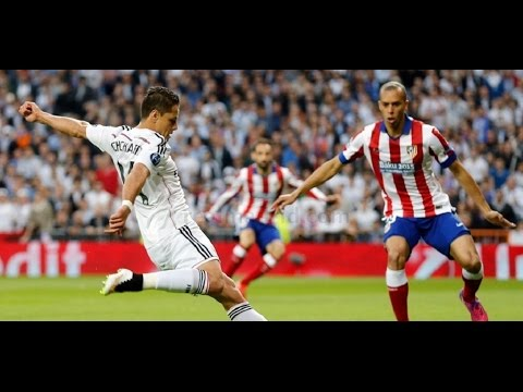 Real Madrid vs Atletico Madrid 1 0 champions league Chicharito Goal Gol  Full Highlights