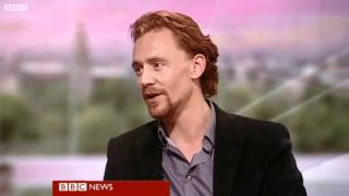 Tom Hiddleston on BBC Breakfast