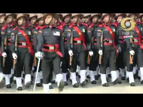 ASSAM RIFLES IN 65 Republic Day Parade 26 January 2014