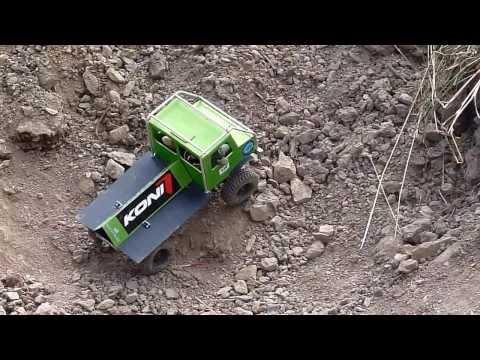 RC Truck Trial Ostrail Modelltruck Meisterschaft Diabasbruch Friedrichswalde-Ottendorf 2013