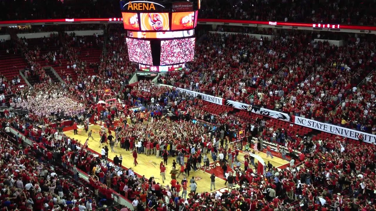 NCSU Over Duke PNC Arena Raleigh NC January 12 2011 NC