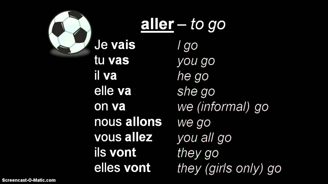 french 3 review of faire  avoir  aller  etre