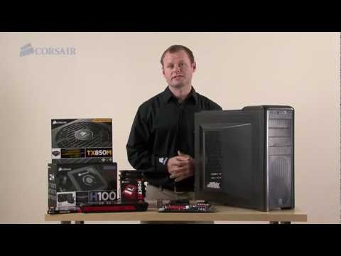 Building a New Gaming PC with the Corsair Carbide Series 400R Mid-Tower Case