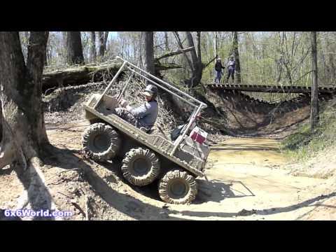 Amphibious 6x6 and 8x8 ATVs