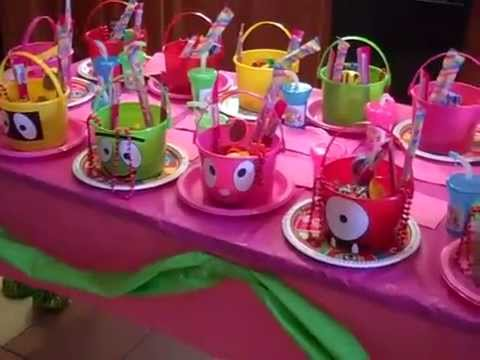 Yo Gabba Gabba Themed Birthday Party