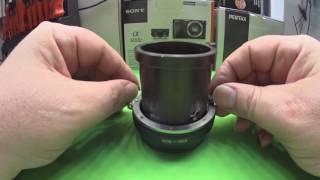 Hack a Vintage Projector lens into a  Mirrorless Camera Lens