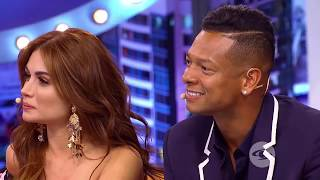 Sara Uribe y Fredy Guarin en The Susos Show Parte 1 - Caracol Tv