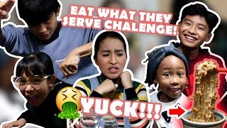 VLOG 31: EAT WHAT THEY SERVE IN JAPAN CHALLENGE (KULIT NYO)