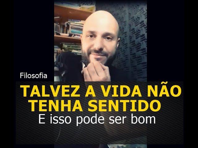 Talvez a vida não tenha sentido (Isso pode ser bom) - Flavio Siqueira