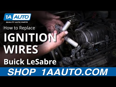 How To Install Replace Spark Plug Wires 1993-99 Buick Lesabre 3800 3.8L