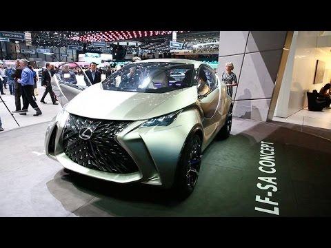 The Lexus LF-SA concept ventures into the ultra-compact territory