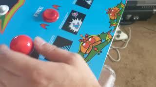 Arcade1Up Galaga and Galaxian friends mini arcade