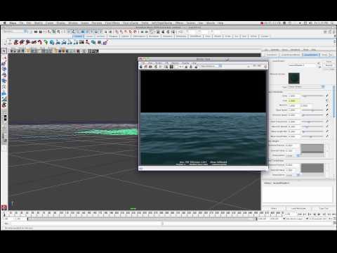 Maya Ocean Shader Tutorial Part 1 of 2 by Stuart Christensen