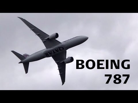 Boeing 787 Farnborough 2012 Display