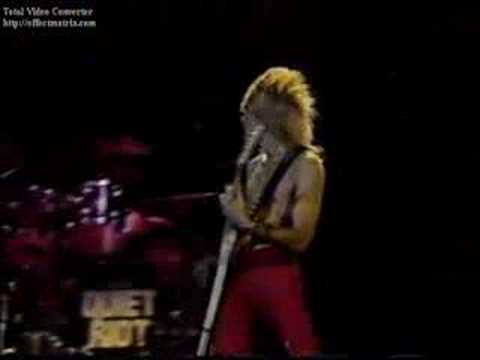 Quiet Riot - Slick Black Cadillac (RockPop in concert, 1983)