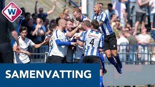 Samenvatting   Quick Boys - Noordwijk   20-04-2019 - OMROEP WEST SPORT