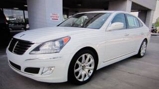 2011 Hyundai Equus Ultimate Start Up, Engine, and In Depth Tour