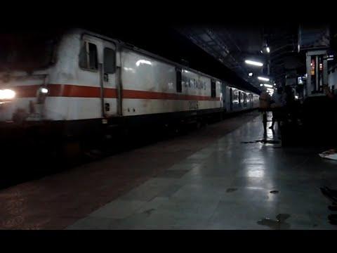 Bangalore Rajdhani Express Arrives At Bhopal Junction