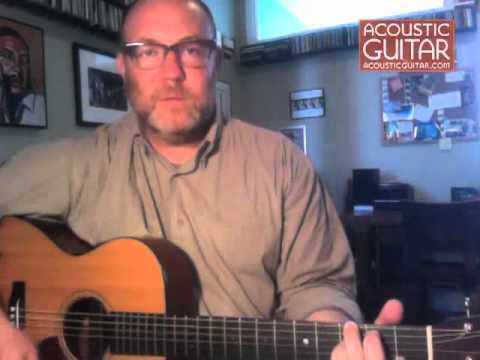 Adam Levy Lesson on Writing the Blues from Acoustic Guitar