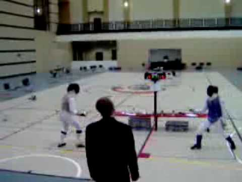2007 Cougar Call to Arms Women's Foil Final - 2 Video