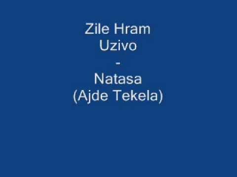 Zile Hram (uzivo) - Natasa (ajde Tekela) video