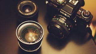 HELP NEEDED + Minolta Lens Collection!