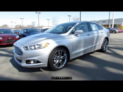 2013 Ford Fusion Titanium 2.0T Start Up, Exhaust, and In Depth Review