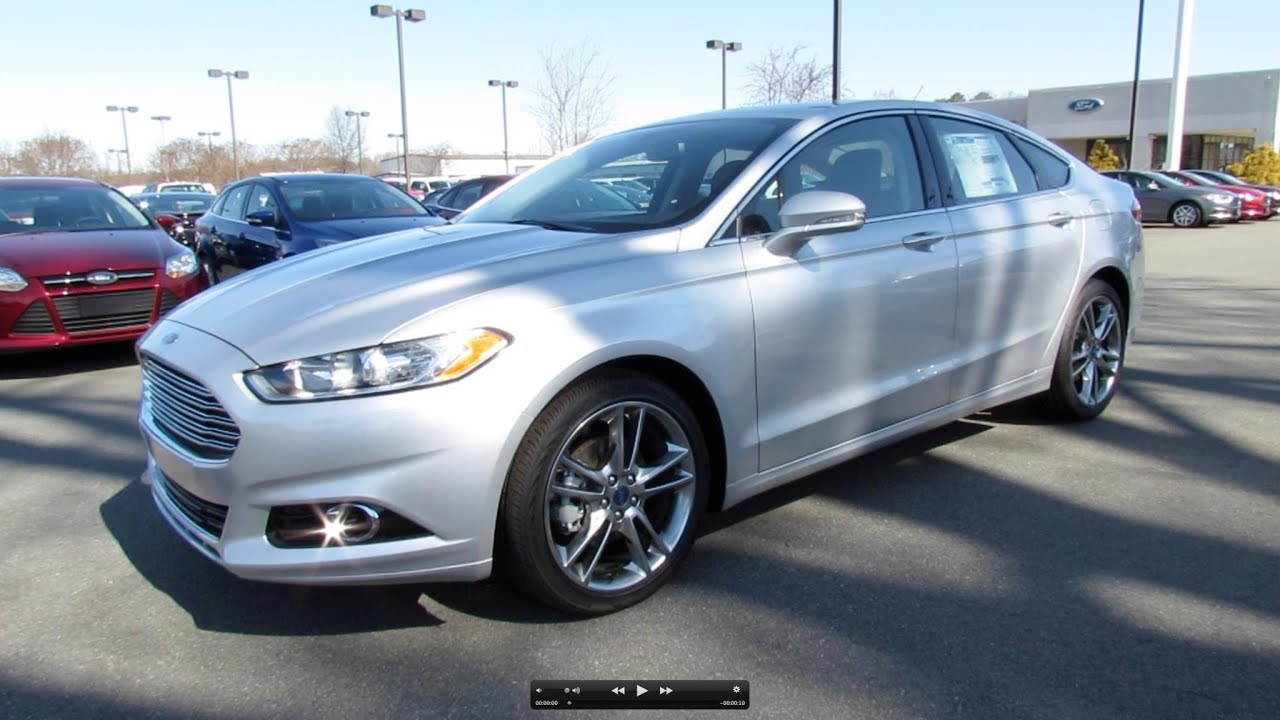 2013 Ford Fusion Titanium 2 0t Start Up Exhaust And In