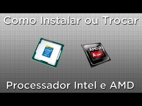 Como trocar processador Intel upgrade AMD Dicas de Informática