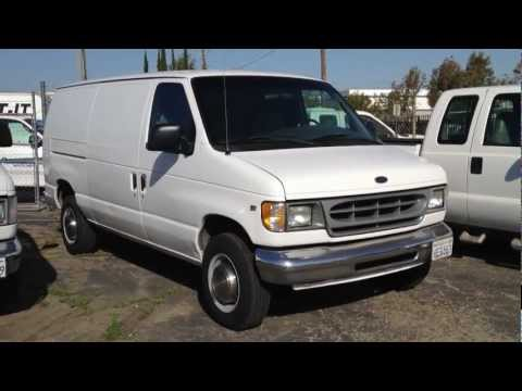 Stock #869 2000 Ford E250 Cargo Van truck 111k miles FOR SALE