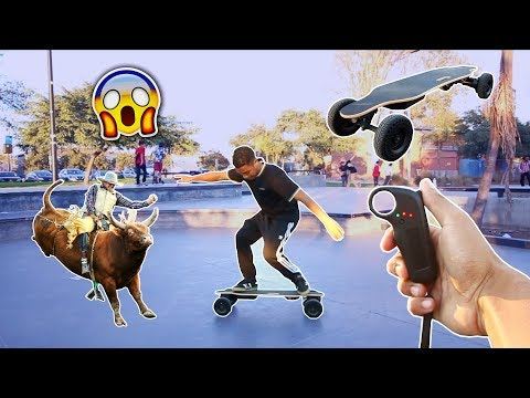 Electric Skateboard Rodeo Challenge