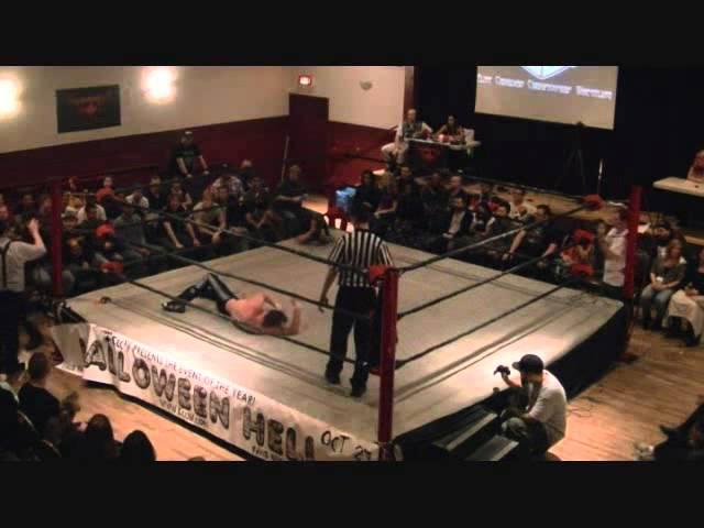 """HAIR VS HAIR, Bishop vs """"Ravenous"""" Randy Myers - ECCW: All or Nothing (10/13/2012)"""