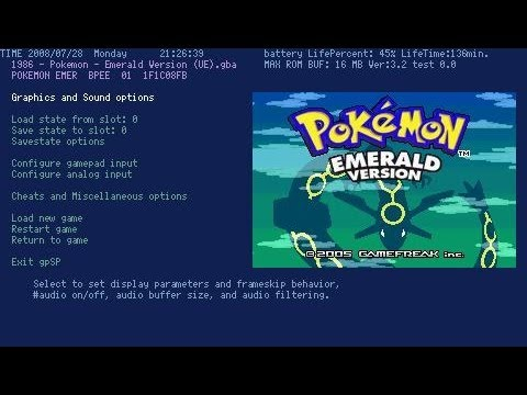 psp gameboy advance emulator 6.60