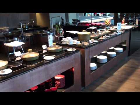 Breakfast at the Westin Hotel, Hyderabad, India